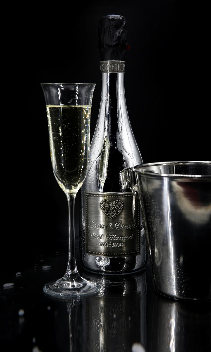 LuxuryBottle GmbH - Sekt, Flasche, Glas