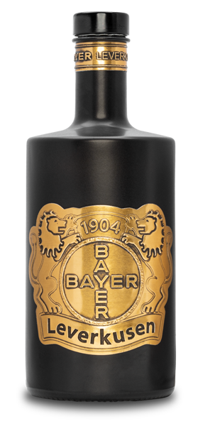 Luxury Bottle GmbH - Bayer 04 Leverkusen Partner Gin Gold