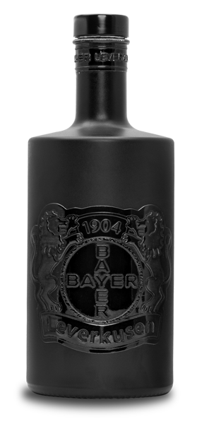 Luxury Bottle GmbH - Bayer 04 Leverkusen Partner Gin Schwarz